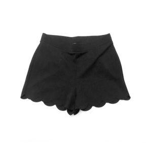 Express Scalloped Shorts